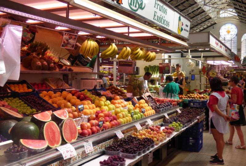 Дворец Меркадо - Центральный рынок Валенсии
