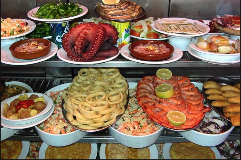 Андалусия. Еда
