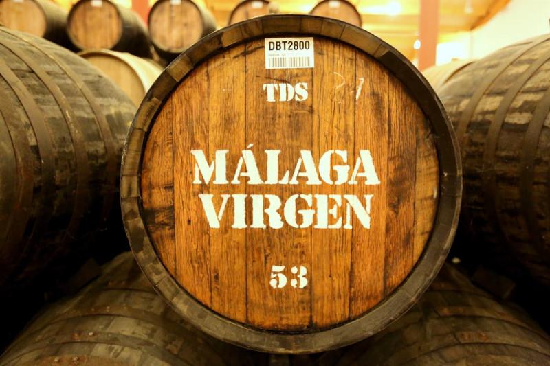 Вино малага.