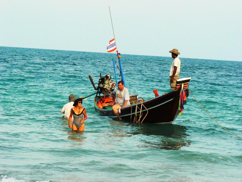 Путешествие на лодке