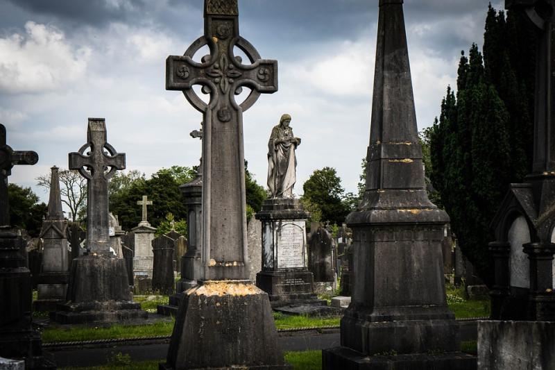 Дублин. Кладбище Glasnevin