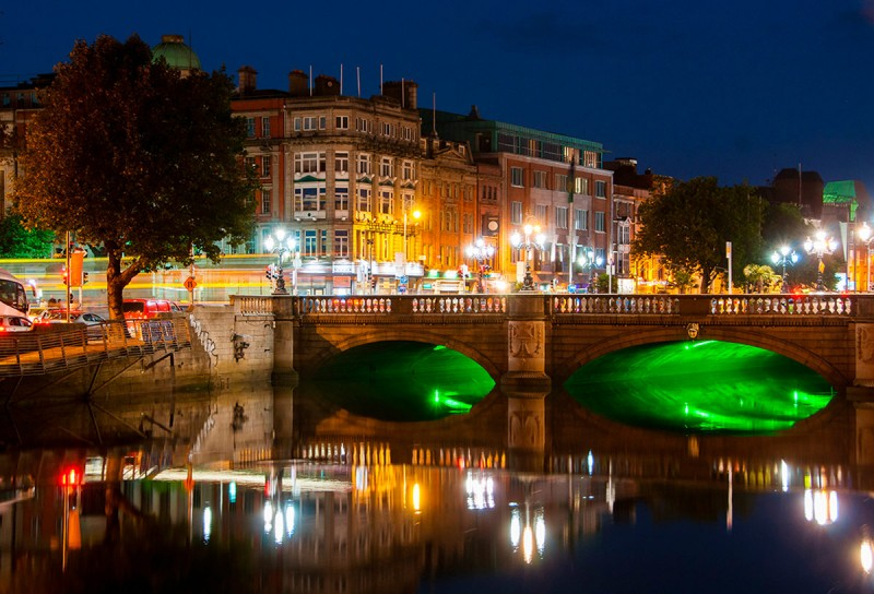 Дублин. Мост О'Коннелла