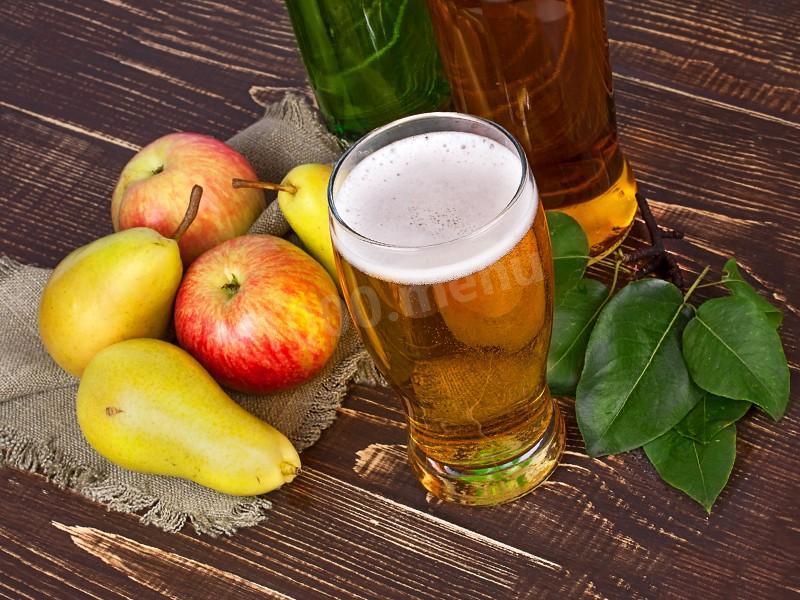 Яблочно-грушевый сидр