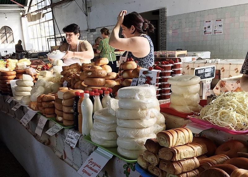 Рынок в Сухуме