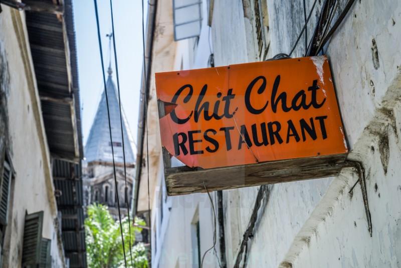 Занзибар. Ресторан Chit-Chat