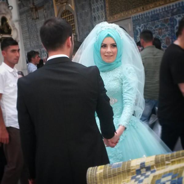 Сочетание традиций и свадебной моды #istanbul #eyup.jpg