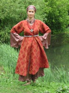 Платье кубелек