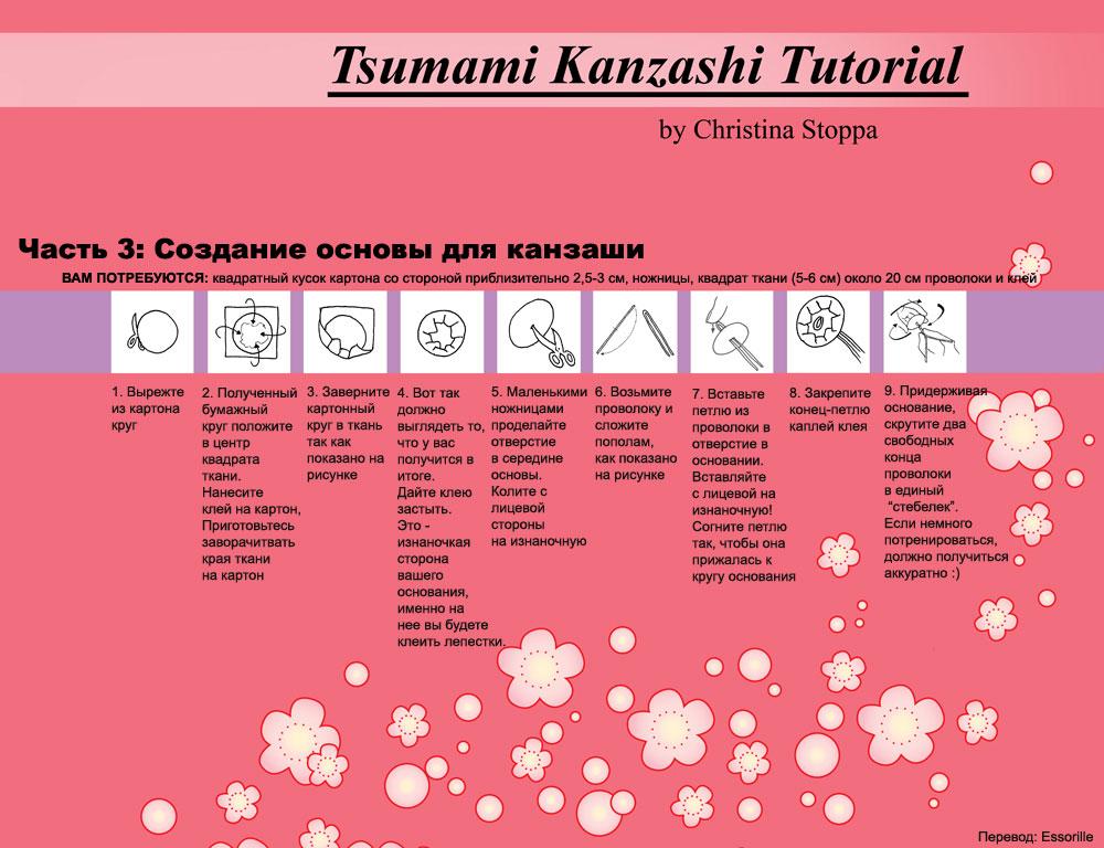 схемы канзаши