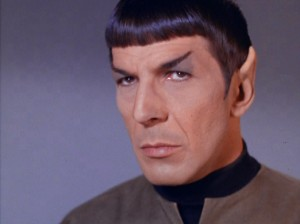 Spock in This Side of Paradise