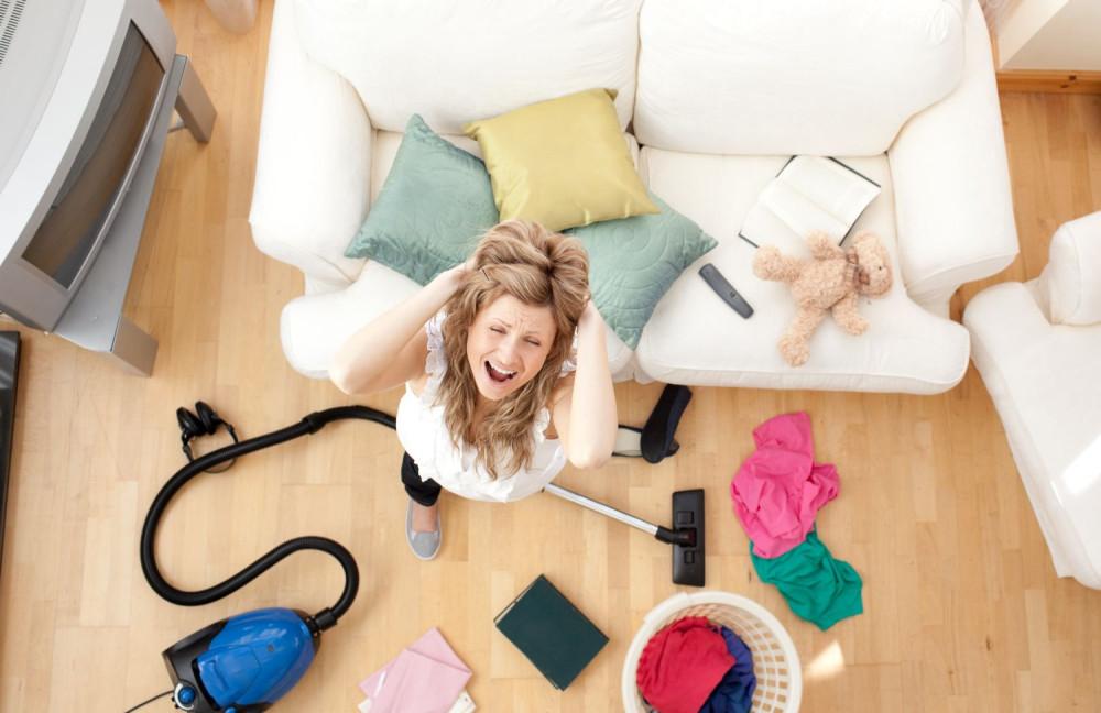 Домашние обязанности вредят здоровью работающих женщин