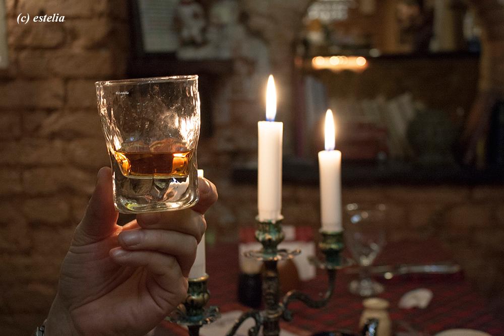 Теплый вечер в Шотландской Клетке