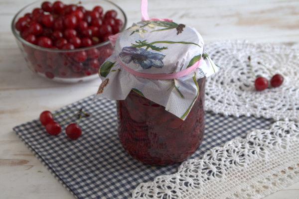 Густое вишневое варенье и вкусный сироп за 30 минут