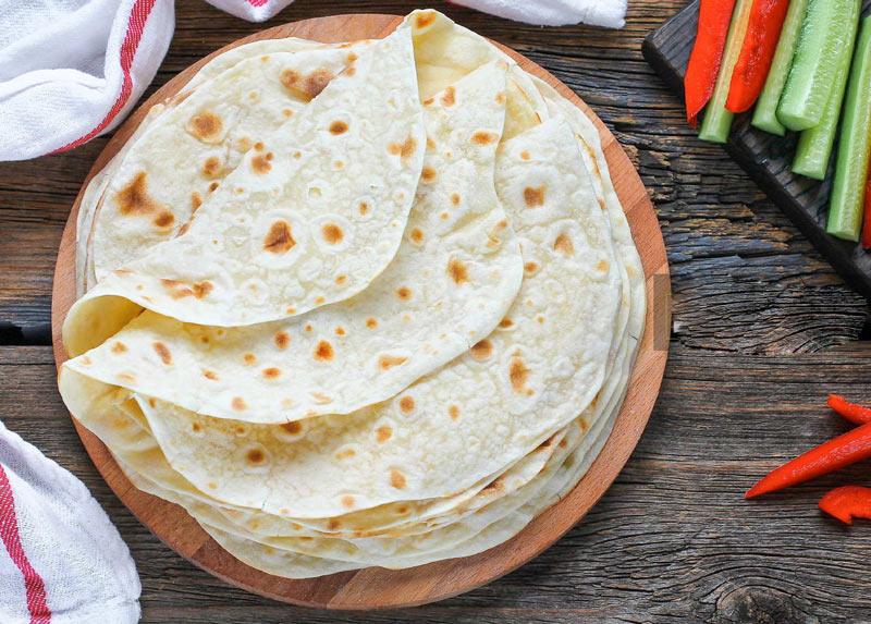 Лаваш тонкий на сковороде – рецепт