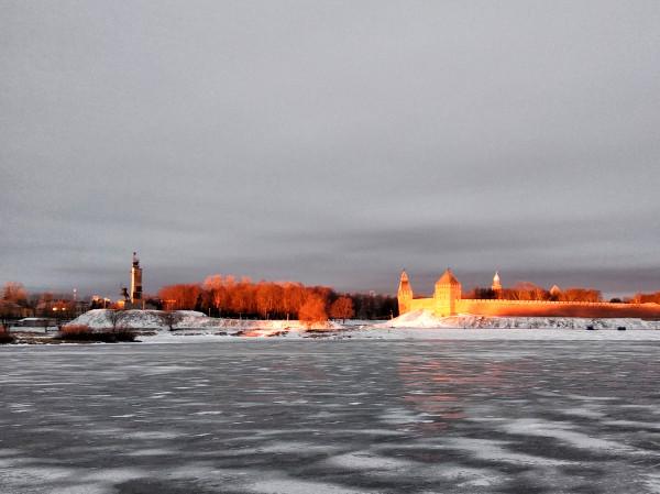 Зимняя прогулка по Великому Новгороду