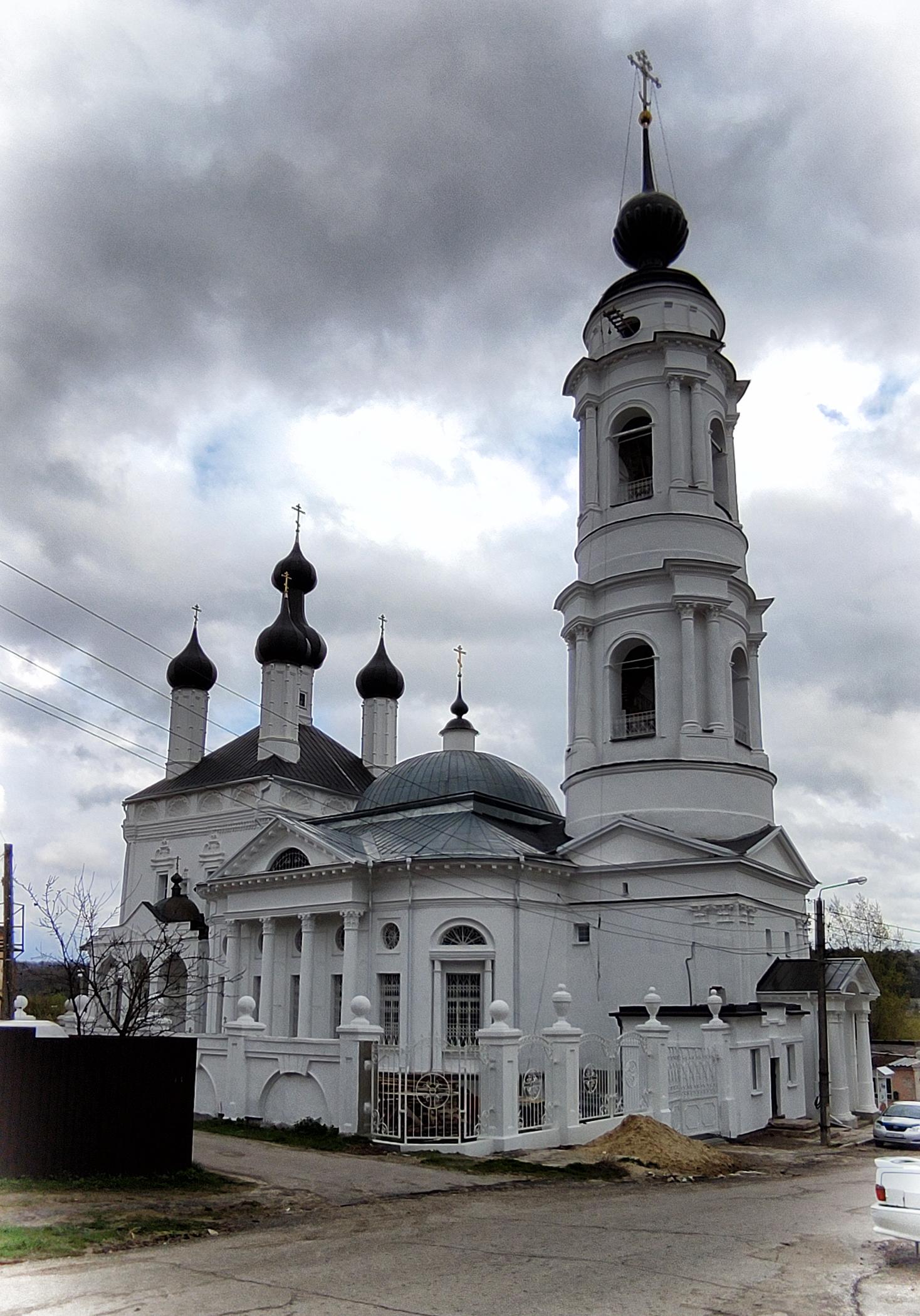 Калужский храм в честь Казанской иконы Божией Матери
