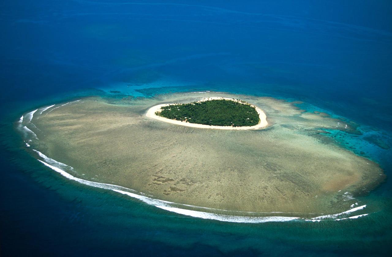 Таваруа - прекрасный тропический остров