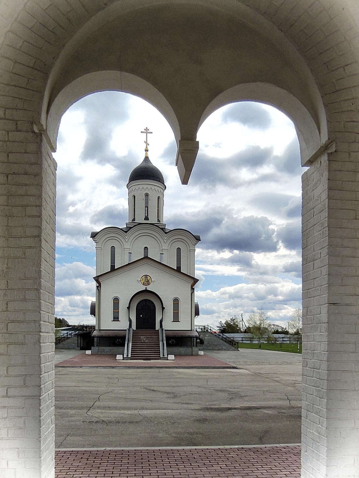 """храм в честь иконы божией Матери """"Владимирская"""""""