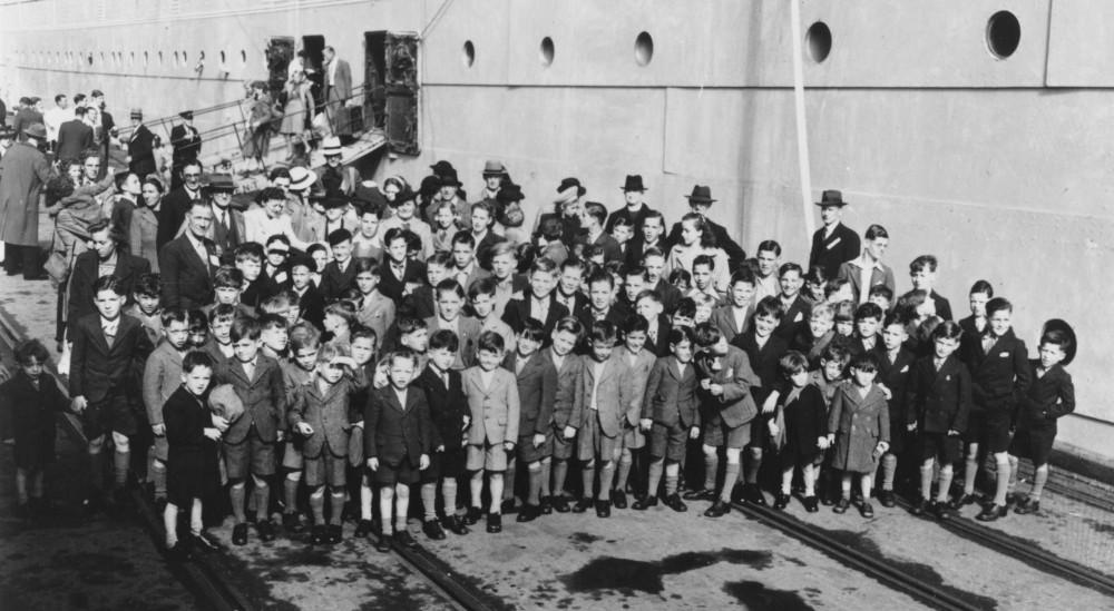 Из истории ювенальной юстиции. Британский вариант - переселение детей
