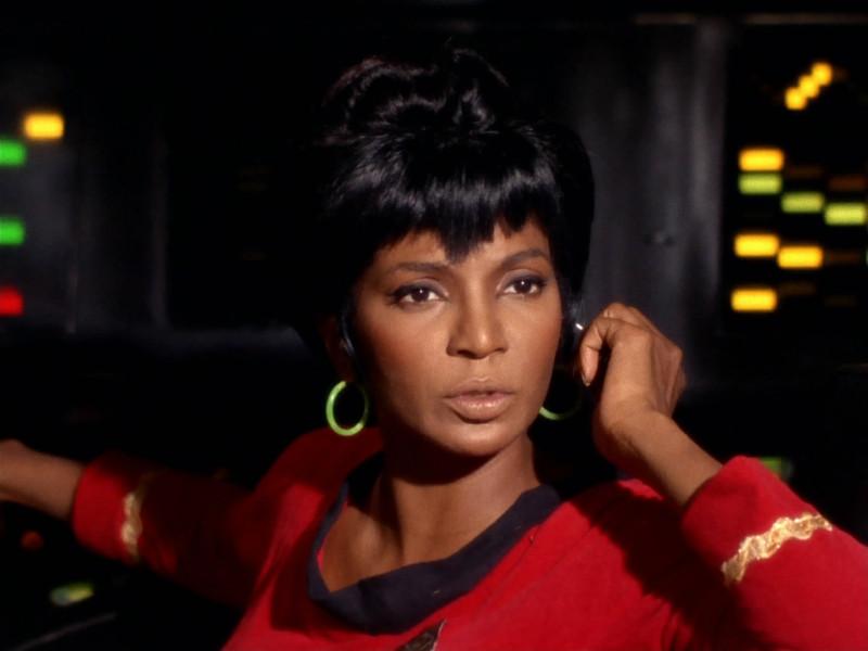 оригинальный Стар Трек Star Trek Звездный путь Нишель Николс - Лейтенант Ухура