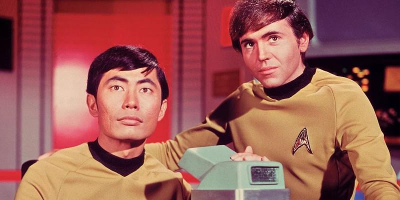 оригинальный Стар Трек Star Trek Звездный путь Чехов и Сулу