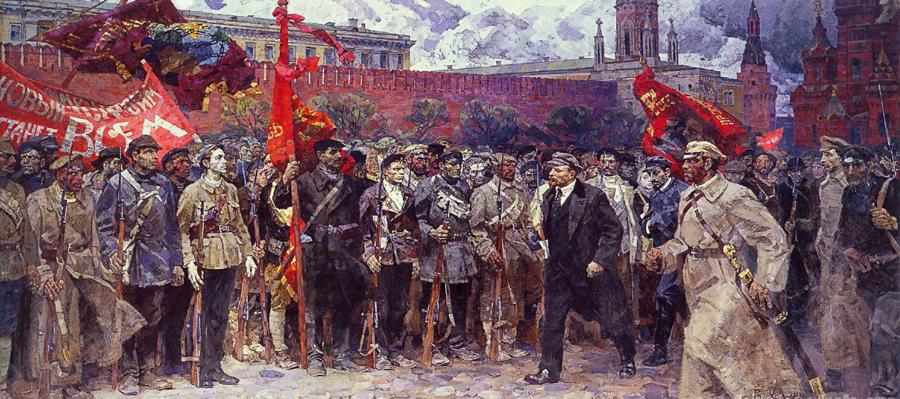 100 лет октябрьской революции. Чувствую себя обманутой :-)