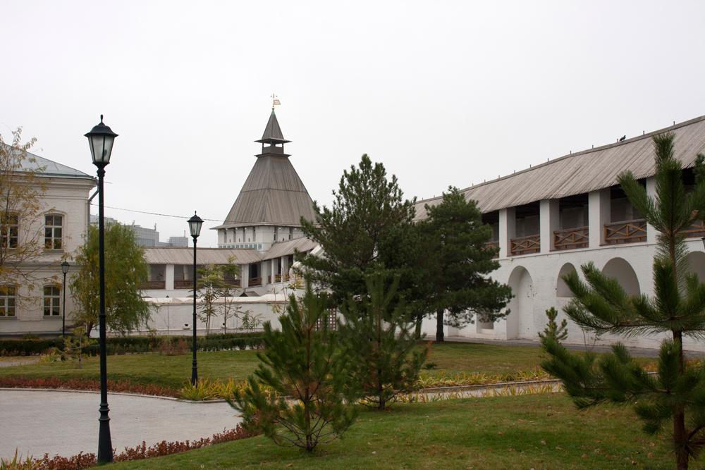 Астраханский Кремль Крепостные Стены