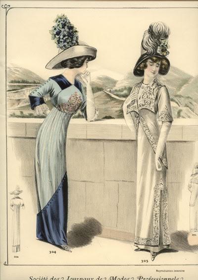 Платья 1910 года фото