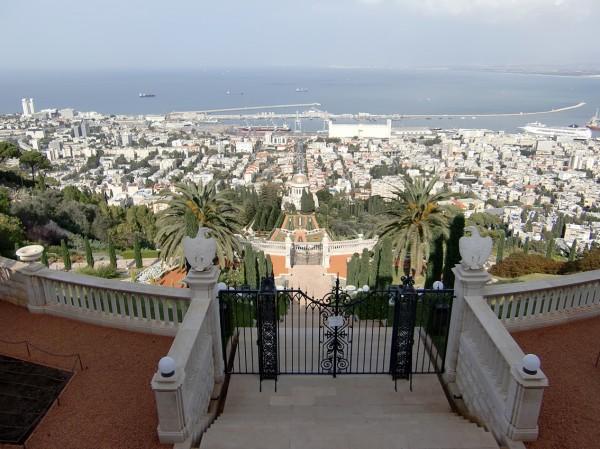 Бахайские сады и Хайфа