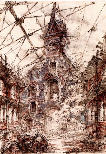 425 Архитектурные фантазии Дыхание города