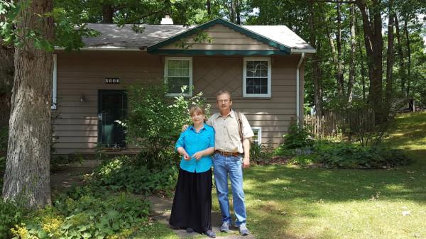 Купили сегодня домик в лесу