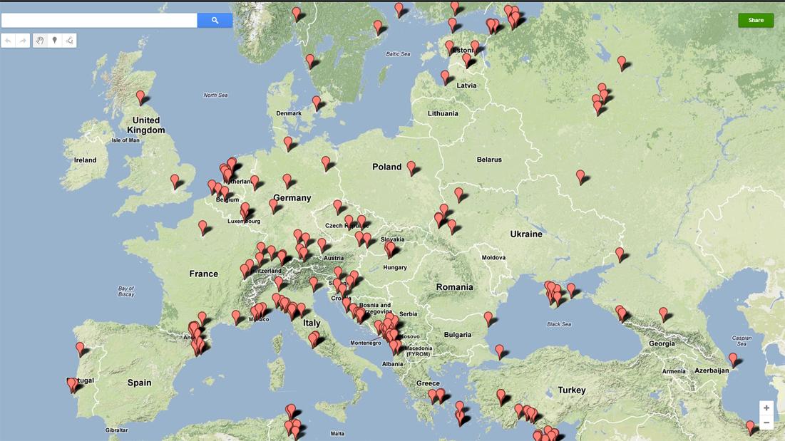 10-PlacesVisitedEurope