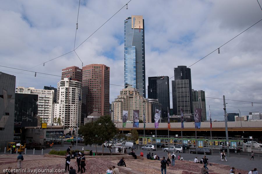 В мельбурне я оказался впервые а