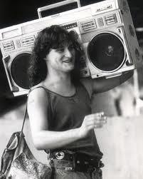 big cassette player
