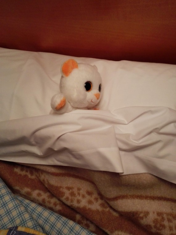 Добрался до отеля. А теперь спаааааать.