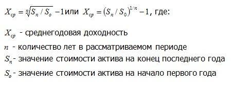 формула - доходность 2