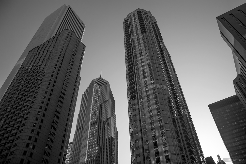 chicago skyscrapers kostsina