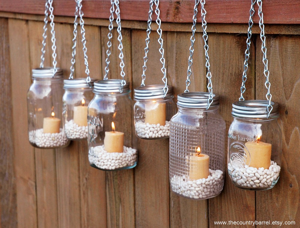Mason-Jar-Candle-Holders