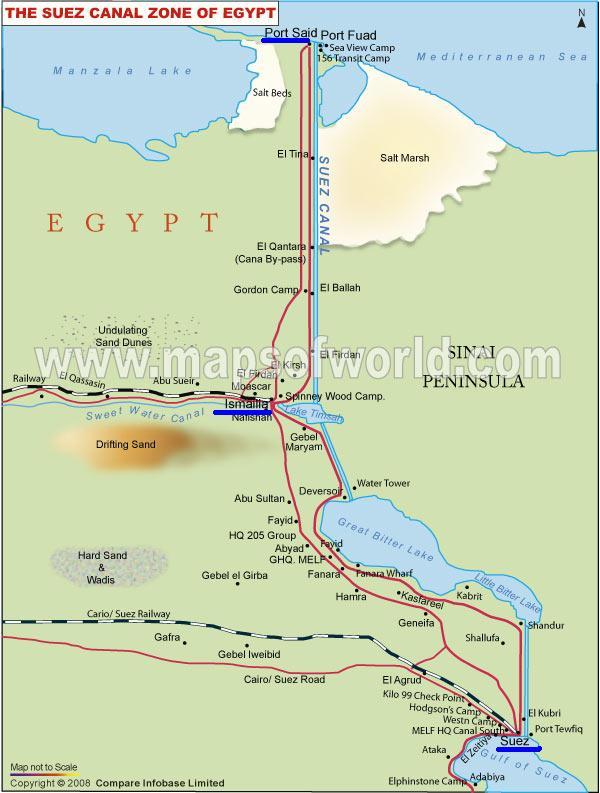 suez-canal-map 1