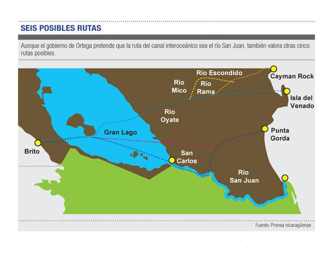 Nicaragua canal proyecto 2