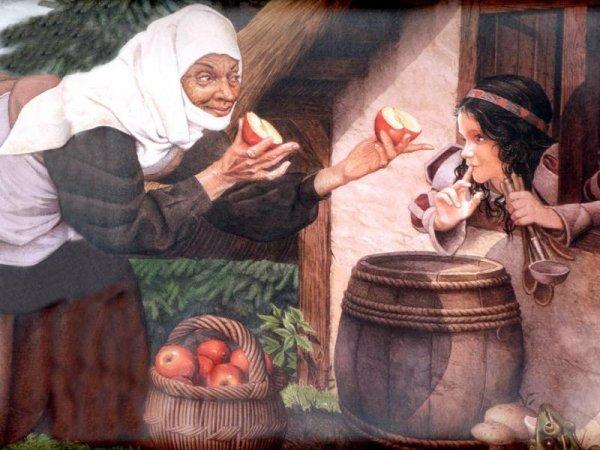 отравленное яблоко