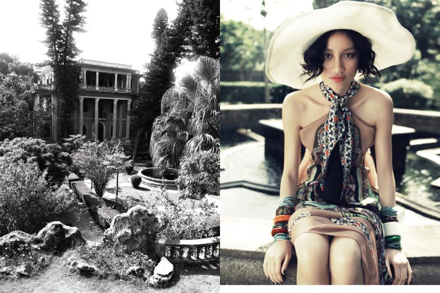 Meng Huang by Yin Chao (Eden Roc - Numéro China January-February 2012) 5