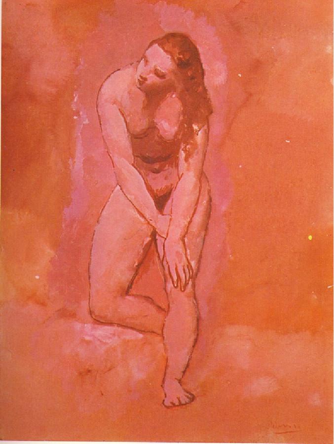 Picasso Nu, etude pour le harem