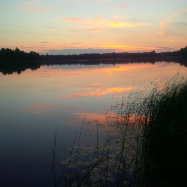 07_2017_6 Озеро Ухвище. Закат