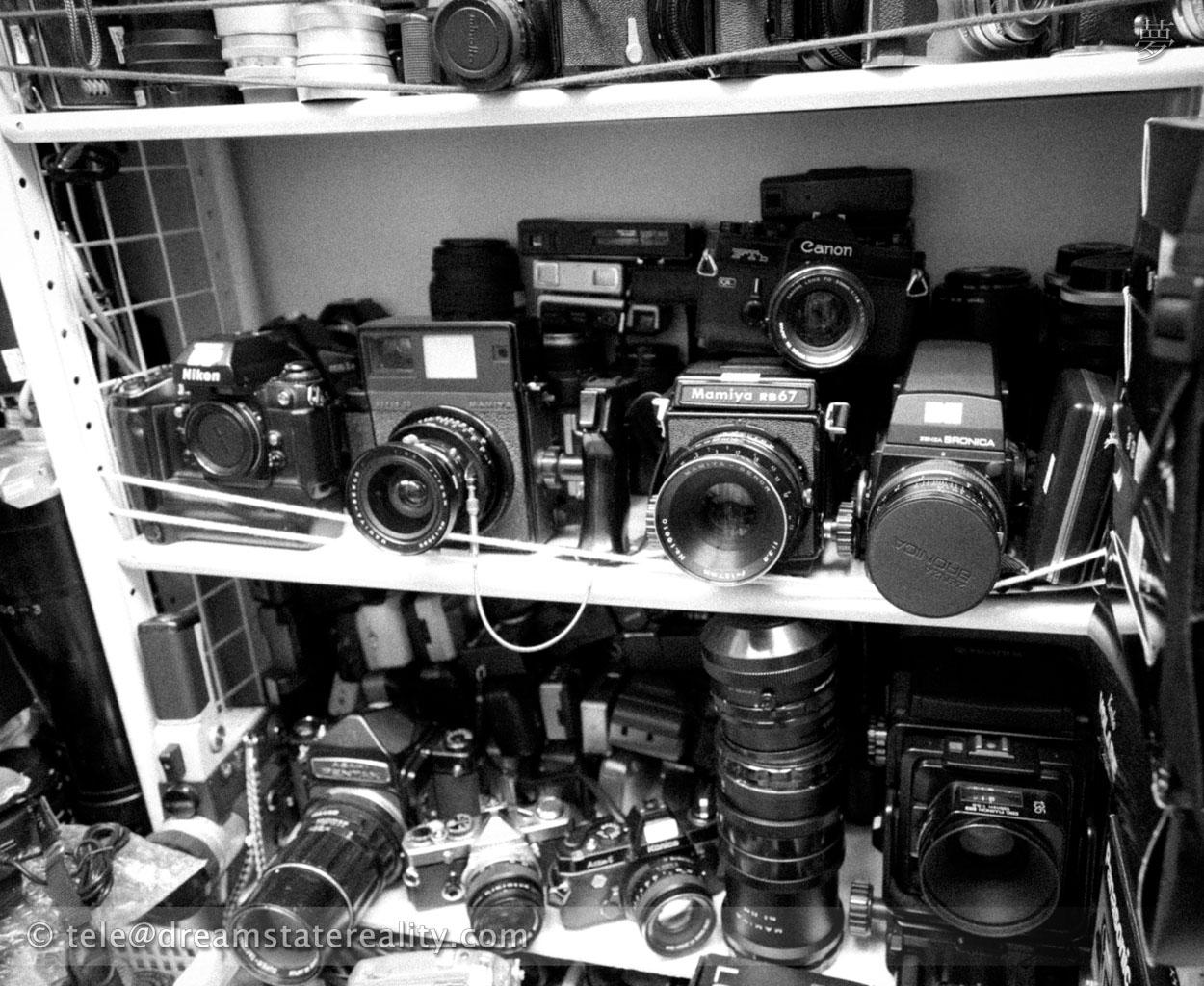 OldCameraFilmShopAkihabaraTokyo