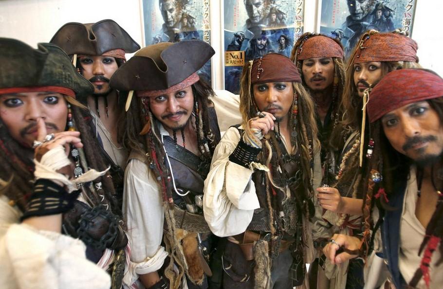 карибски пирати - имитатори