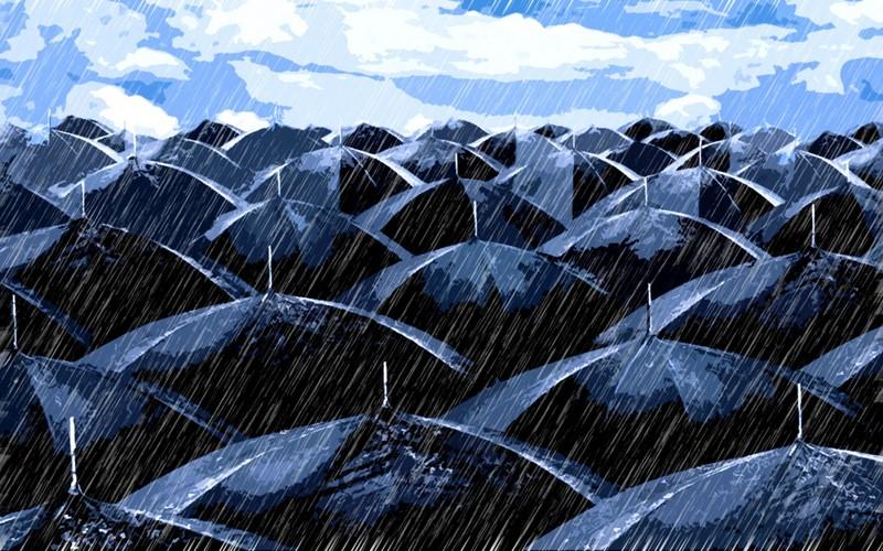 У меня хватит ума понять, что мокну я из-за дождя