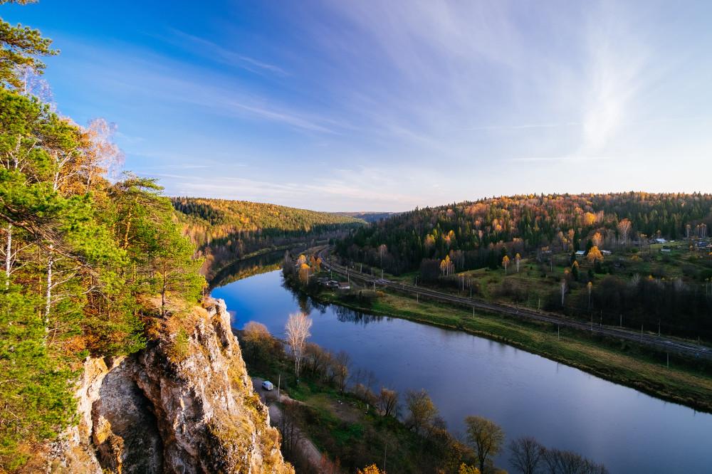 Фото реки сылва