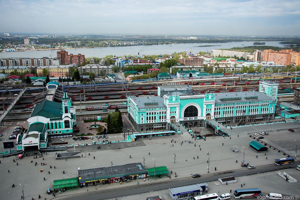 Картинки жд вокзала новосибирск главный