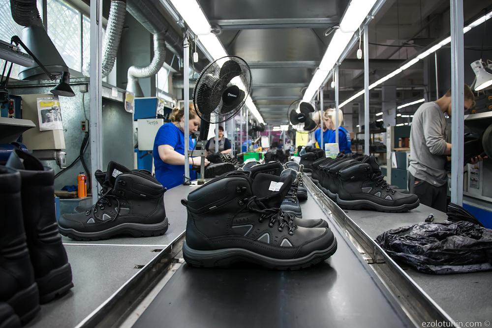 Как делают российскую обувь