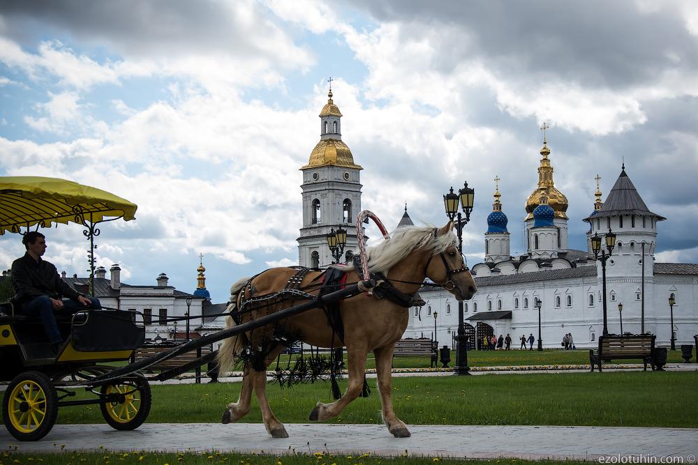 Тобольский кремль. Единственный за Уралом
